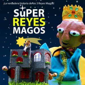 Super Reyes magos titere vivo